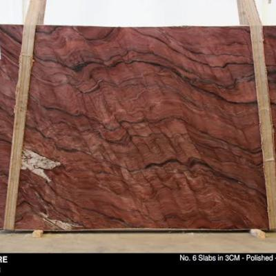 Fusion Fire Quartzite