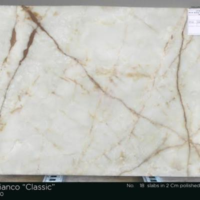 White Onyx 3cm, Lot 4